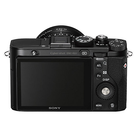 "Buy Sony DSC-RX1 Digital Camera, HD 1080p, 24.3MP, 2x Optical Zoom, 3"" LCD Screen Online at johnlewis.com"