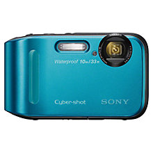 "Buy Sony Cyber-shot DSC-TF1 Camera, HD 720p, 16.1MP, 4x Optical Zoom, 2.7"" LCD Screen Online at johnlewis.com"