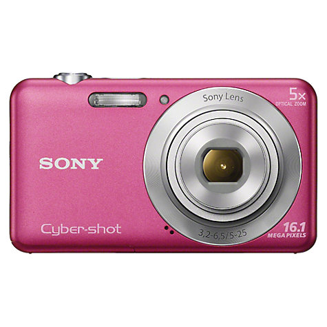 "Buy Sony DSC-W710 Camera, HD 720p, 16.1MP, 5x Optical Zoom, 2.7"" LCD Screen Online at johnlewis.com"