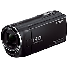 "Buy Sony HDR-CX220E HD 1080p Camcorder, 8.9MP, 27x Optical Zoom, 2.7"" LCD Screen, Black Online at johnlewis.com"
