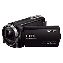 "Buy Sony HDR-CX410VE HD 1080p Camcorder, 8.9MP, 30x Zoom, OIS, Wi-Fi Ready, GPS, 3"" Touch Screen, Black Online at johnlewis.com"