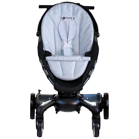 Buy 4moms Origami Pushchair, Silver Online at johnlewis.com