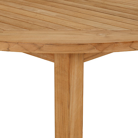 Buy Kettler Vancouver 6 Seater Round Outdoor Dining Table Online at johnlewis.com