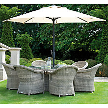 Buy Neptune Pesaro Round 6 Seater Outdoor Dining Set Online at johnlewis.com