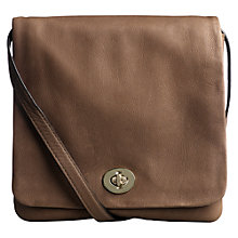 Buy Jigsaw Slouch Body Handbag, Taupe Online at johnlewis.com