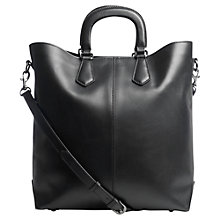Buy Jigsaw Mo Tote Bag, Black Online at johnlewis.com