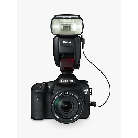 Buy Canon Speedlite 600EX-RT Flash Online at johnlewis.com