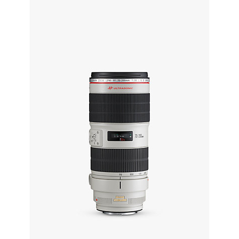Buy Canon EF 70 200mm f/2.8L IS II USM Lens Online at johnlewis.com