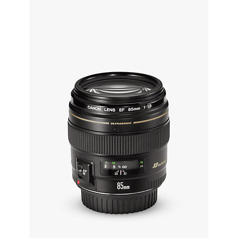 Buy Canon EF 85mm f/1.8 USM Telephoto Lens Online at johnlewis.com