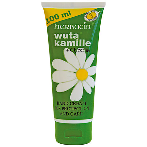 Buy Herbacin Wuta Kamille Hand Cream, 100ml Online at johnlewis.com