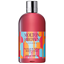 Buy Molton Brown Patchouli & Saffron Body Wash, 300ml Online at johnlewis.com