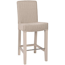 Buy Neptune Montague High Back Bar Chair, Pale Stone Online at johnlewis.com