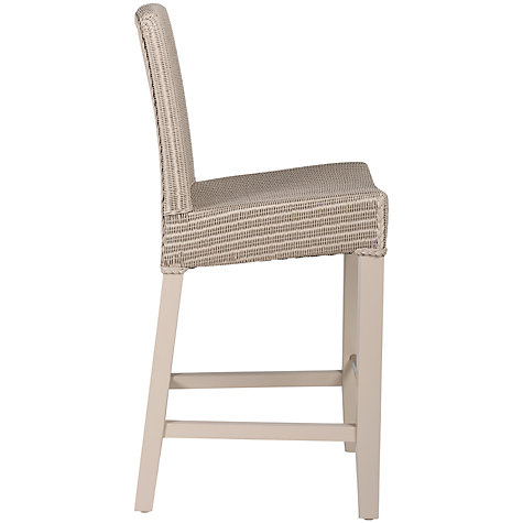 Buy Lloyd Loom Neptune Montague Bar Chair, Pale Stone Online at johnlewis.com