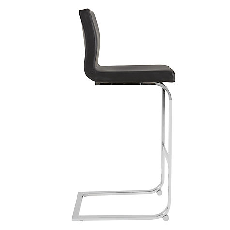 Buy John Lewis Quadra Bar Chair, Black Online at johnlewis.com