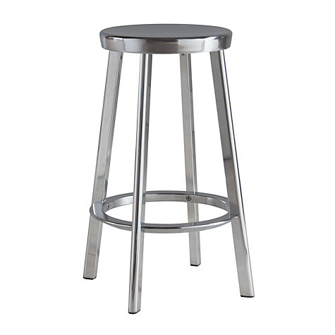Magis Deja Vu Bar Stool Silver Online At Johnlewis