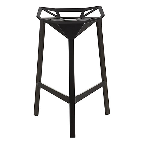 Buy Magis Stool One Bar Stool, Black Online at johnlewis.com