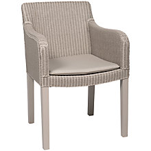 Buy Neptune Antigua Lloyd Loom Armchair, Pale Stone Online at johnlewis.com