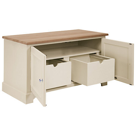 Buy Neptune Chichester Deluxe Workstation Base, Limestone Online at johnlewis.com