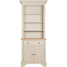 Buy Neptune Chichester 3ft Open Rack Dresser, Limestone Online at johnlewis.com