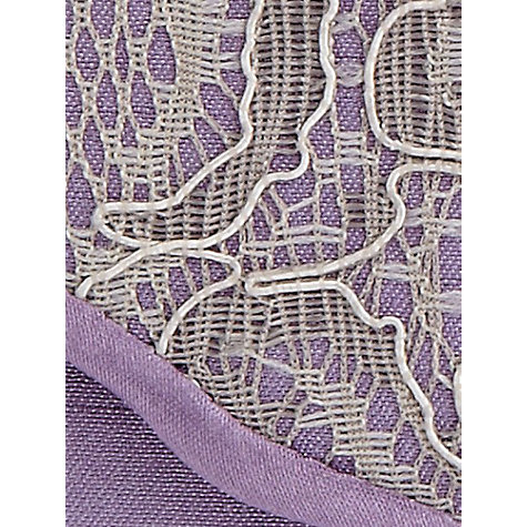 Buy Jacques Vert Lace Clutch Handbag, Purple Lavender Online at johnlewis.com