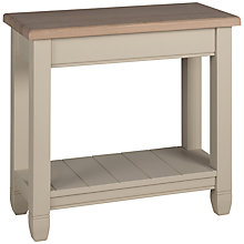 Buy Neptune Chichester Side Lamp Table, Limestone Online at johnlewis.com