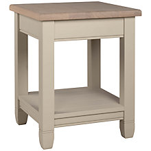 Buy Neptune Chichester 45cm Lamp Table, Limestone Online at johnlewis.com