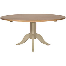 Buy Neptune Chichester 8 Seater Round Dining Table, Limestone Online at johnlewis.com
