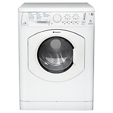 Buy Hotpoint WDL540P Washer Dryer, 7kg Wash/5kg Dry Load, B Energy Rating, 1400rpm Spin, White Online at johnlewis.com