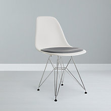 Buy Eames DSR Upholstered Side Chair Online at johnlewis.com