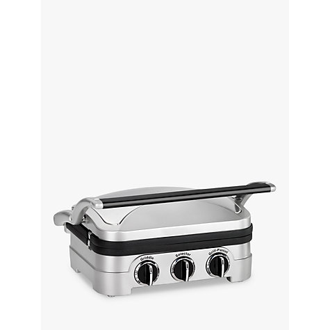 Buy Cuisinart GR4CU Griddle & Grill Online at johnlewis.com