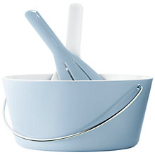 Buy Eva Solo Bowl with Salad Set, Blue Online at johnlewis.com