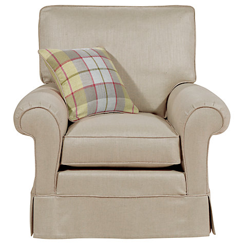 Buy Duresta Woburn Gents Armchair, Limestone Online at johnlewis.com