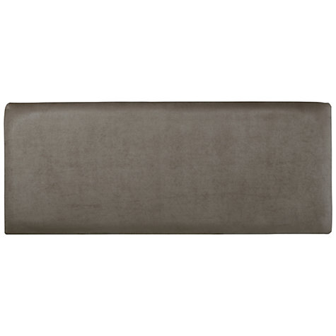 Buy John Lewis Taunton Faux Suede Headboard, Double Online at johnlewis.com