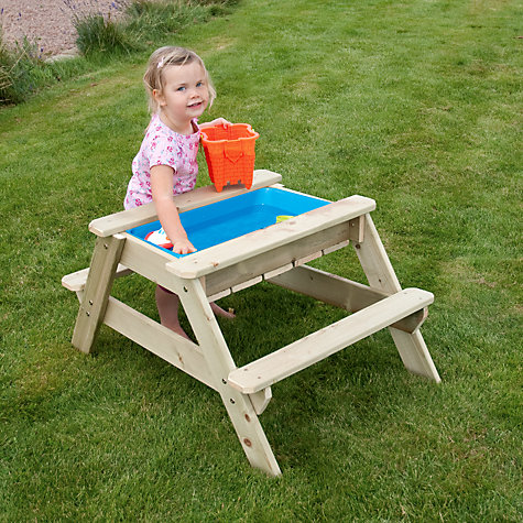 Buy TP285 Early Fun Picnic Table Sandpit Online at johnlewis.com