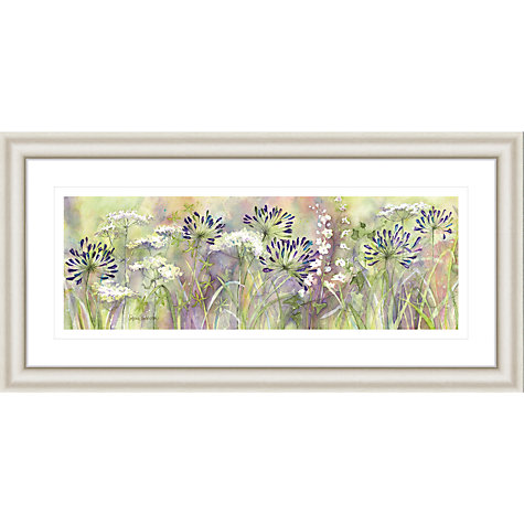 Buy Catherine Stephenson - Agapanthus Grasses Framed Print, 55 x 110cm Online at johnlewis.com