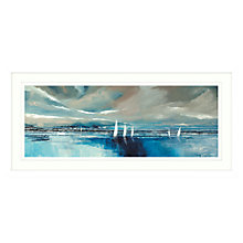 Buy Stuart Roy - Blue Horizon Framed Print, 49 x 104cm Online at johnlewis.com