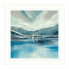 Buy Stuart Roy - Blue Horizon 2 Framed Print, 62 x 62cm Online at johnlewis.com