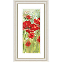 Buy Catherine Stephenson - Red Poppy Meadow Framed Print, 90.5 x 50.5cm Online at johnlewis.com