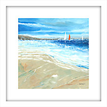 Buy Stuart Roy - Sea Breeze 1 Framed Print, 62 x 62cm Online at johnlewis.com