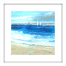 Buy Stuart Roy - Sea Breeze 2 Framed Print, 62 x 62cm Online at johnlewis.com