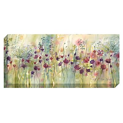 Catherine Stephenson – Spring Floral Pods Print on Canvas, 60 x 135cm