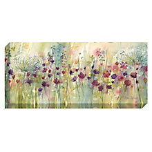 Buy Catherine Stephenson - Spring Floral Pods Print on Canvas, 60 x 135cm Online at johnlewis.com