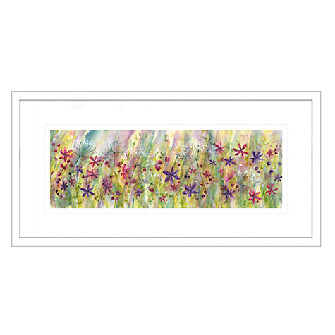 Buy Catherine Stephenson - Summertime Meadow Framed Print, 55 x 110cm Online at johnlewis.com