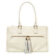 Buy Hobbs Orla Tote Handbag, Natural Online at johnlewis.com