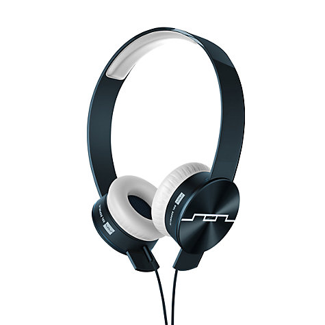 Buy Sol Republic Tracks Ultra On-Ear Headphones with Remote and Mic, Black Online at johnlewis.com