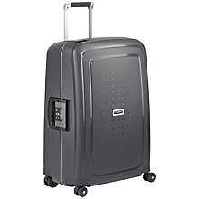 Buy Samsonite S'cure Delux 4-Wheel 69cm Medium Suitcase Online at johnlewis.com