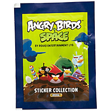 Buy Angry Birds Space Stickers, Pack of 5, Assorted Online at johnlewis.com