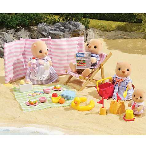 Buy Sylvanian Families Beach Picnic Online at johnlewis.com