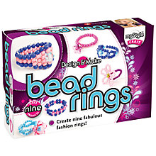 Buy myStyle Design & Make Bead Rings Online at johnlewis.com
