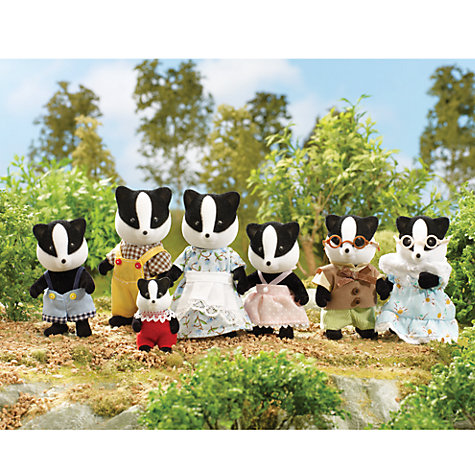 Buy Sylvanian Families Celebration Badger Family Online at johnlewis.com